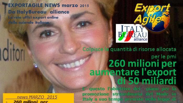 EXPORTAGILE NEWS di Marzo 2015